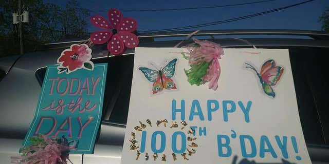 Family and friends recently went all-out for a car parade in honor of Charlene Anderson's 100th birthday in Foley, Alabama.