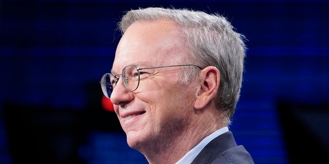 Eric Schmidt, former chairman and CEO at Google, is seen above.