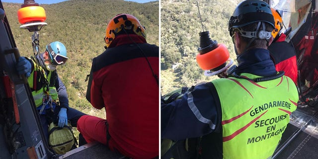 A French mountain rescue team was called out after a man violated quarantine restrictions and attempted to walk to Spain.