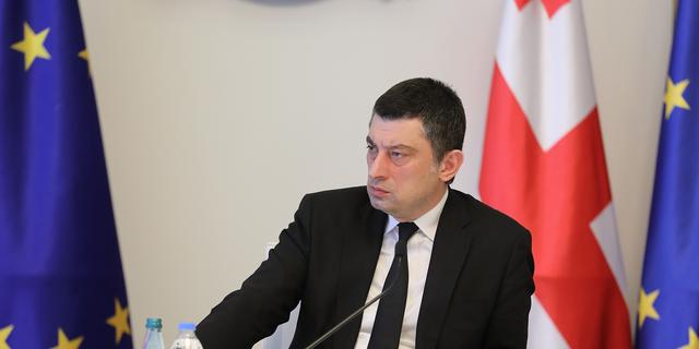 Georgia's Prime Minister Giorgi Gakharia