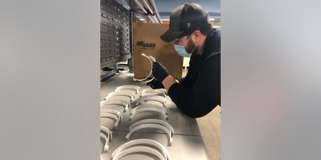 SIG Sauer has donated KN95 masks to first responders in New Hampshire, Massachusetts and Arkansas and manufacturing face shields for healthcare professionals from their optics manufacturing facility near Portland, Oregon