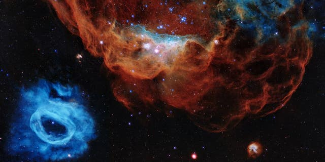 Hubble took this image, entitled