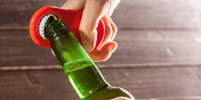 The market research firm also reported that online alcohol sales were up a whopping 243 percent, far outpacing in-store sales.
