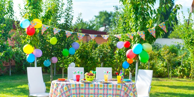 To really go all-out, consider celebrating your special someone's birthday dinner or the day altogether in a festive theme.