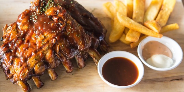 Ribs were as popular as ever in South, Grubhub said.