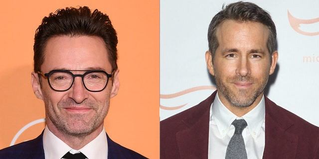 Hugh Jackman, left, opened up to Fox News about his longtime love of trolling Ryan Reynolds, adding that do so 'should be an Olympic sport.'