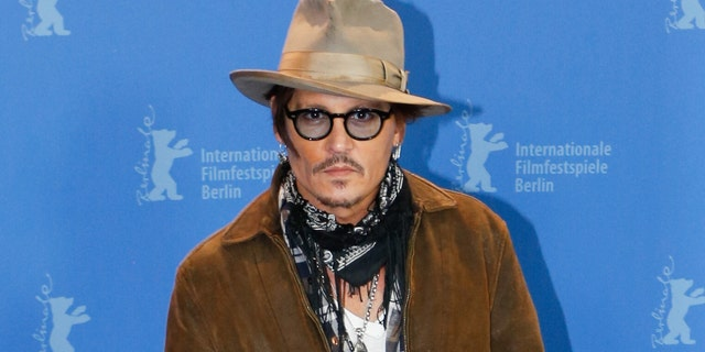 Johnny Depp,Actorattends a photo call of Minamata during 70th Berlinale International Film Festival in Grand Hyattin Berlin, Germany on February 21.