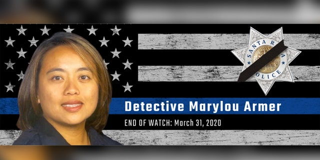 Santa Rosa Det. Marylou Armer was 43 when she died from the coronavirus on March 31.