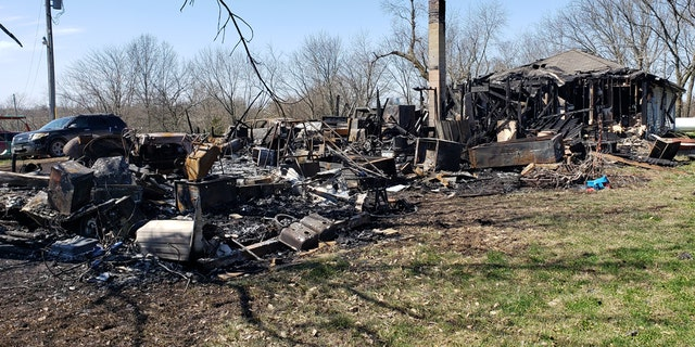 The Villegas family's home in Odessa, MO burned down Sunday. The community rallied together to help them in a big way.