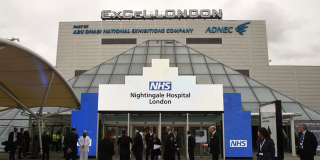Westlake Legal Group nightingale-london-2 UK opens first coronavirus field hospital after just 9 days of construction Greg Norman fox-news/world/world-regions/united-kingdom fox-news/world/world-regions/europe fox-news/world/personalities/british-royals fox-news/health/infectious-disease/coronavirus fox news fnc/us fnc article 30c3f83d-af5d-5e73-a5d2-a2a7fbe2100c