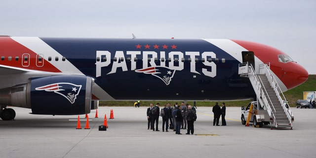 The Patriots used the team plane to retrieve masks from China. (Adam Hagy-USA TODAY Sports)