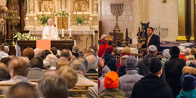 A lot of priests and rabbis will not be speaking to packed congregations this year during Holy Week and Passover due to the coronavirus pandemic.