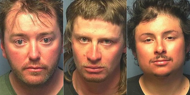 Travis Pettit, 34, Ryan Albert, 25, and Joseph Thompson, 28, were arrested for violating Colorado's stay-at-home order.