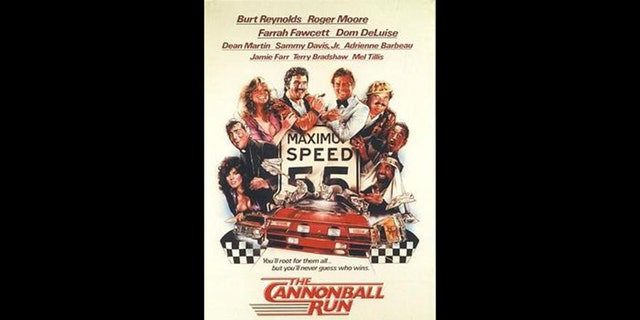 The original Cannonball Run was fictionalized in a 1981 comedy starring Burt Reynolds.