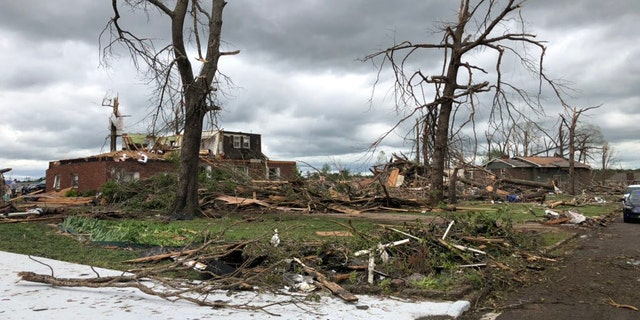 Chattanooga tornado had winds of 145 mph as deadly storms damage ...