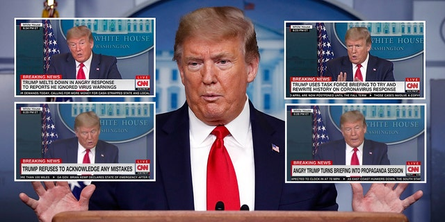 """CNN's """"argumentative chyrons demonstrate that news and opinion have completely merged"""" at the network, according to Cornell Law School professor William A. Jacobson. (AP Photo/Alex Brandon)"""