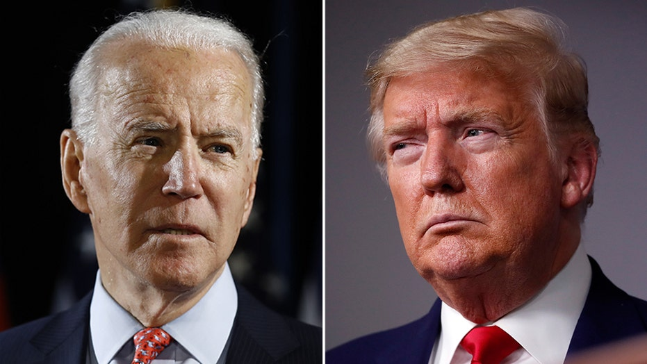 Joe Biden casts Trump as divider as the president visits Pennsylvania