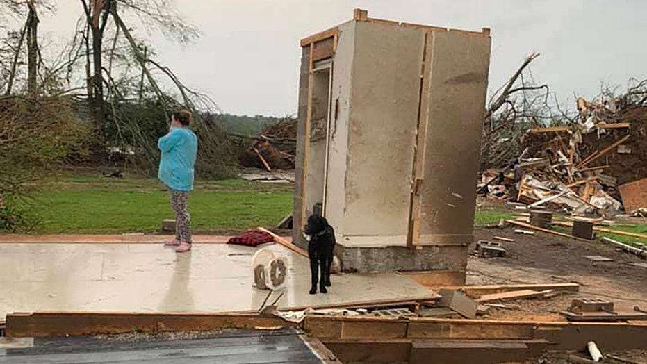 Tornado reports stretch from Texas to Carolinas after two days of deadly storms