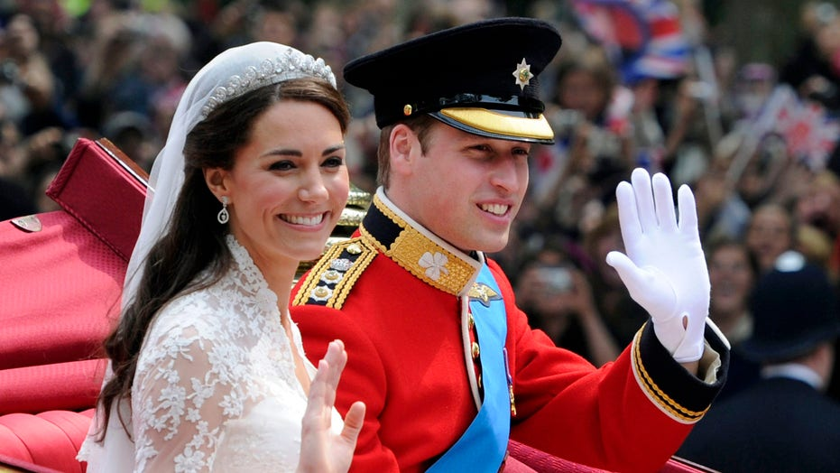 Prince William Kate Middleton Celebrate 9th Royal Wedding