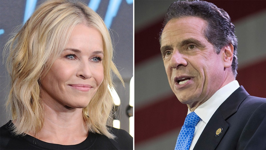 Gov. Andrew Cuomo reacts to Chelsea Handler's crush on him