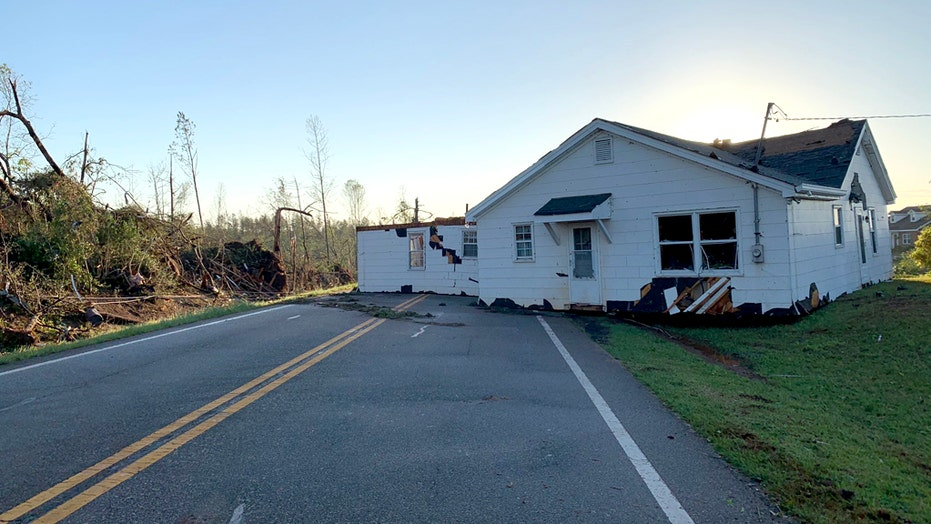 Deadly storm system leaves path of catastrophic destruction across Southeast