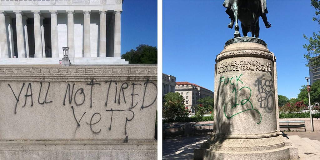 Famed DC Monuments Defaced After Night of Protests