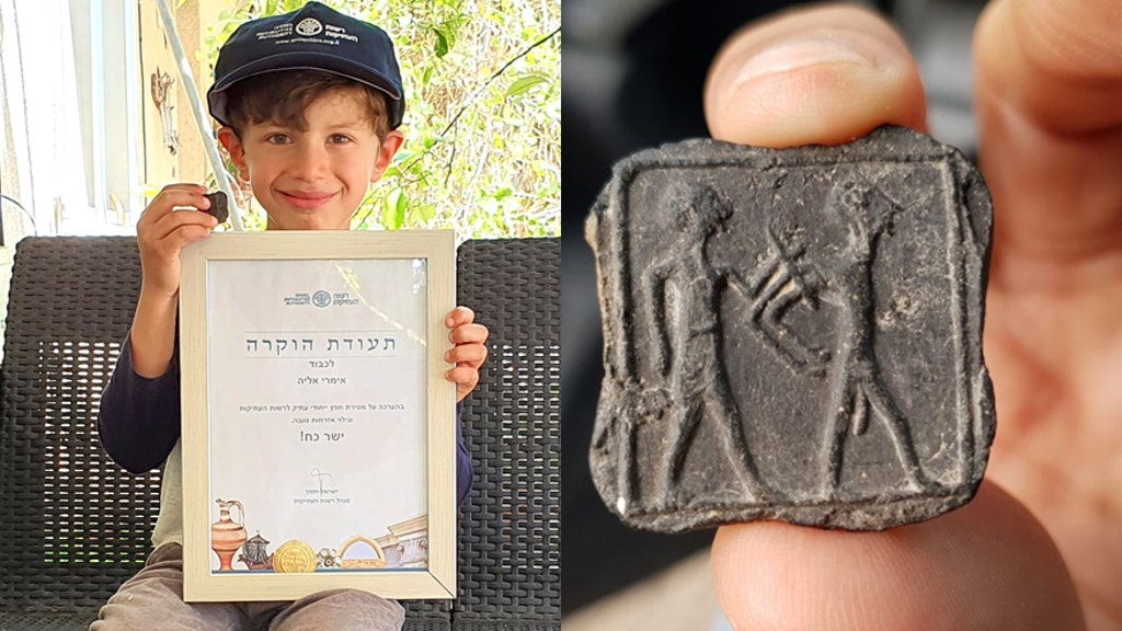 Boy, 6, finds 3,500-yr.-old clay tablet depicting ancient captive