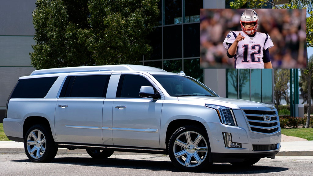 Tom Brady selling custom SUV, complete with 32-inch TV, for a huge amount