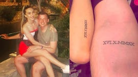Couple got tattoos of future wedding date before coronavirus cancellation: 'All you can do is laugh'