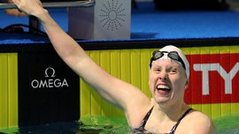Olympic gold medalist Lilly King training for 2021 Games in Indiana pond
