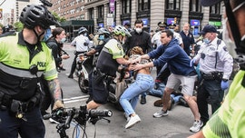 George Floyd protests in NYC turn violent, dozens arrested