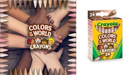 Crayola releases 'colors of the world' crayons representing more than 40 skin tones