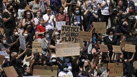 Protests sparked by George Floyd's death get support from around the world