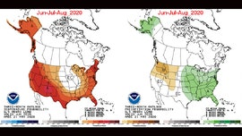 Summer 2020 weather looks to have widespread warmth, wetness for Midwest and East