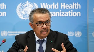 WHO chief urges halt to booster shots as White House backs new vaccine push