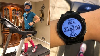 Nursing student runs 100 miles to raise money for coronavirus relief
