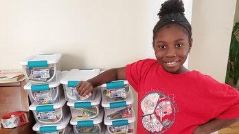 Girl, 10, sends over 1,500 art kits to kids in homeless shelters, foster care during coronavirus shutdown