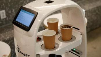 South Korean coffee shop utilizes robotic baristas to maintain social distancing etiquette