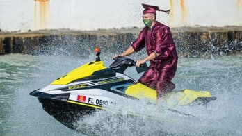 Key West high school follows coronavirus social distancing measures with Jet Ski graduation