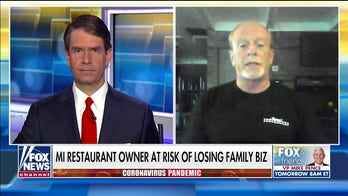 Michigan restaurant owner defies Gov. Whitmer鈥檚 order in last-ditch effort to save family business