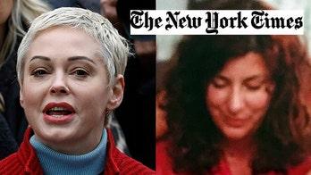 Rose McGowan slams New York Times reporter over alleged Tara Reade questions