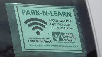 Iowa school district sends Wi-Fi vans into vulnerable communities as coronavirus keeps students home