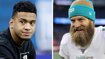 Dolphins' Ryan Fitzpatrick says he supports Tua Tagovailoa even though he still wants to play