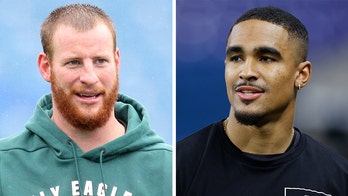 Carson Wentz on Eagles' draft selection Jalen Hurts: 'I'm excited to add him to the team'