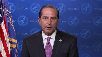 HHS Secretary Azar does not see new coronavirus shutdowns coming despite surge in cases