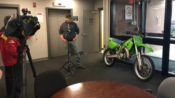 Stolen motorcycle found and returned to owner after 27 years