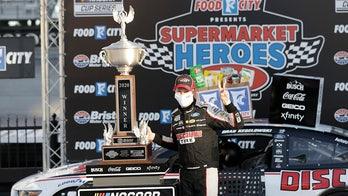 Keselowski wins Bristol NASCAR race as tempers flare between Logano and Elliott