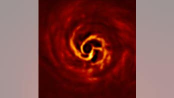 Baby exoplanet seen growing around star system in stunning photo
