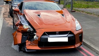 Driver previously ticketed for breaking lockdown rules wrecks $100G sports car