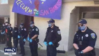San Francisco police chief nixes officers' 'Thin Blue Line' coronavirus masks